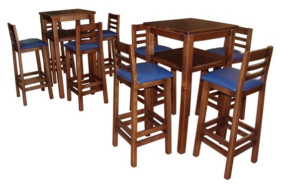 Pin silla sillas mesa mesas combo bressia tapa cristal on for Sillas madera cafeteria